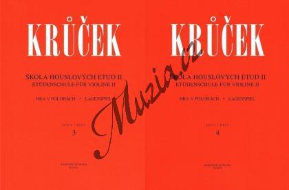Krůček Václav | Škola houslových etud - 2. díl (sešit 3, 4) | Noty na housle - H6187ab.jpg