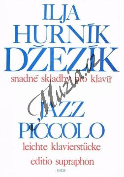 Hurník Ilja | Džezík | Noty na klavír - H6329.jpg