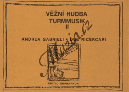 Gabrieli Andrea | Due ricercari | Set partů - Noty-komorní hudba - H6366.jpg