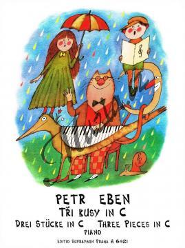 Eben Petr   Tři kusy in C   Noty na klavír - H6421.jpg