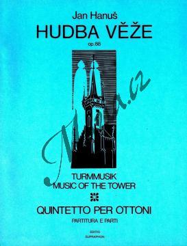 Hanuš Jan | Hudba věže op. 88 (Pocta Bohuslavu Martinů) | Partitura a party - Noty pro dechový kvintet - H6477.jpg