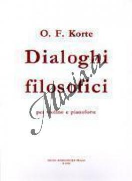 Korte Oldřich František | Filosofické dialogy pro housle a klavír (Dialoghi filosofici) | Partitura a party - Noty na housle - H6582.jpg