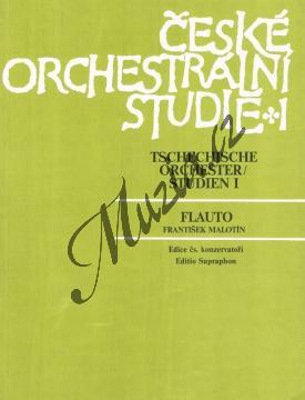 Album | České orchestrální studie 1 (Antonín Dvořák: Orchestrální skladby) | Noty na příčnou flétnu - H6587.jpg