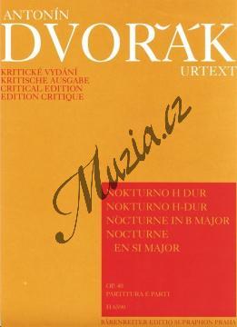 Dvořák Antonín | Nokturno H dur op. 40 | Partitura a party - Noty pro smyčcový kvintet - H6590.jpg