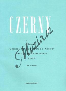 Czerny Carl | Umění pohotovosti prstů op. 740 | Noty na klavír - H6603.jpg