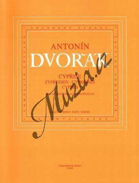 Dvořák Antonín | Cypřiše | Set partů - Noty pro smyčcový kvartet - H6663.jpg
