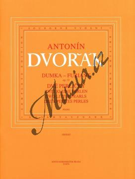 Dvořák Antonín | Dumka - Furiant op.12 / Dvě perličky (B 156) | Noty na klavír - H6676.jpg
