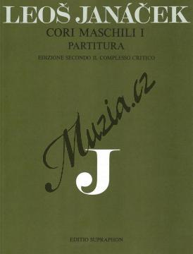 Janáček Leoš | Cori maschili I | Partitura - Noty pro sbor - H6713.jpg
