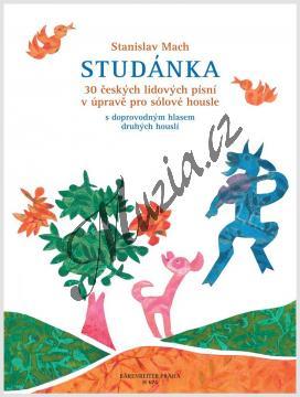 Mach Stanislav | Studánka op. 103 (30 českých lidových písní) | Noty na housle - H674.jpg