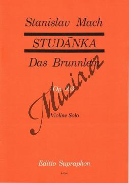 Mach Stanislav | Studánka op. 103 (30 lidových písní v úpravě pro sólové housle) | Noty na housle - H674a.jpg