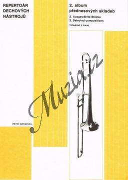 Album | Album přednesových skladeb pro pozoun a klavír II | Noty na trombón - H6781.jpg