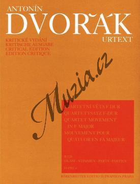 Dvořák Antonín | Kvartetní věta F dur  (B 120) | Set partů - Noty pro smyčcový kvartet - H6902a.jpg