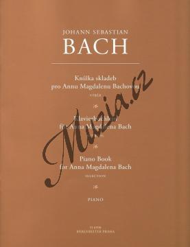 Bach Johann Sebastian | Knížka skladeb pro Annu Magdalenu Bachovou | Noty na klavír - H6990.jpg