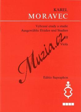 Moravec Karel | Vybrané etudy a studie - 3. díl | Noty na violu - H7022.jpg
