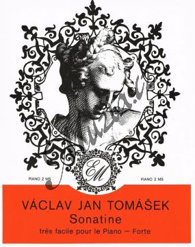 Tomášek Václav Jan | Sonatina pro klavír | Noty na klavír - H7025.jpg