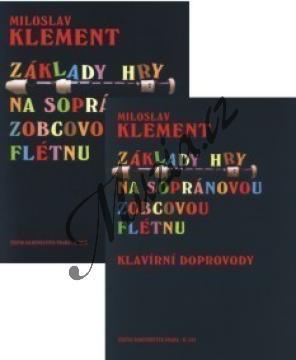 Klement Miloslav | Základy hry na sopránovou zobcovou flétnu | Noty na zobcovou flétnu - H7039.jpg