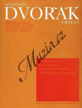 Dvořák Antonín | Klavírní dílo - 1.díl | Noty na klavír - H7040-1.jpg