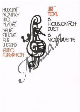 Teml Jiří   6 houslových duet   Noty na housle - H7074.jpg