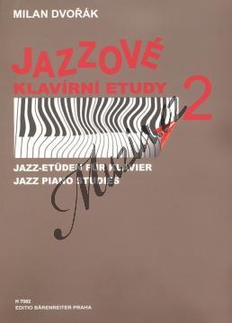 Dvořák Milan | Jazzové klavírní etudy - 2. díl | Noty na klavír - H7082.jpg