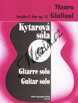 Giuliani Mauro | Sonáta C dur op. 15 | Noty na kytaru - H7170.jpg
