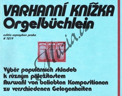Album | Varhanní knížka (výběr populárních skladeb k různým příležitostem) | Noty na varhany - H7219.jpg