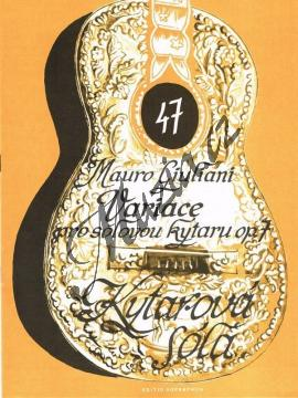 Giuliani Mauro | Variace pro sólovou kytaru op. 7 | Noty na kytaru - H7228.jpg