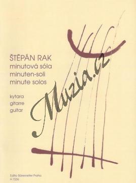 Rak Štěpán | Minutová sóla (drobné skladby pro začínající kytaristy) | Noty na kytaru - H7236.jpg