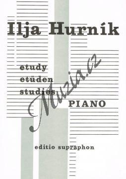 Hurník Ilja   Etudy   Noty na klavír - H7239.jpg