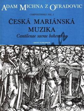 Michna Adam z Otradovic | Česká mariánská muzika | Partitura - Noty pro sbor - H7240.jpg