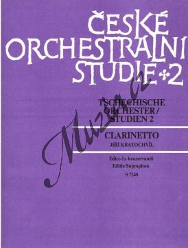 Album | České orchestrální studie 2 (Antonín Dvořák: Orchestrální skladby) | Noty na klarinet - H7248.jpg
