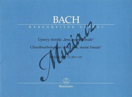 Bach Johann Sebastian | Úpravy chorálu  Jesu, meine Freude  BWV 610, BWV 713, BWV 1105 | Noty na varhany - H7250.jpg