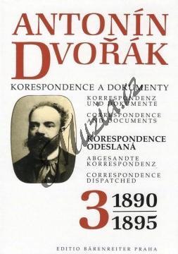 Kuna Milan a kol. | Antonín Dvořák - Korespondence a dokumenty 3 | Kniha - H7328.jpg