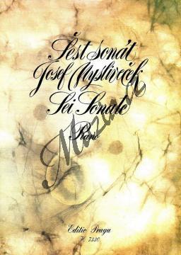 Mysliveček Josef | Šest sonát (Sei Sonate) pro klavír | Noty na klavír - H7330.jpg