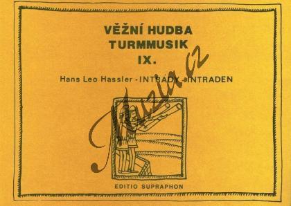 Hassler Hans Leo | Intrády | Set partů - Noty-komorní hudba - H7405.jpg