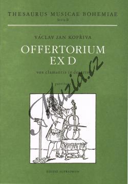 Kopřiva Václav Jan | Offertorium ex D  Vox clamantis in deserto | Partitura - Noty pro sbor - H7442.jpg
