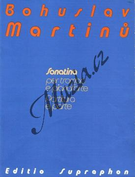 Martinů Bohuslav | Sonatina pro trubku a klavír - Partitura a party | Noty na trubku - H7489.jpg