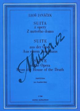 Janáček Leoš | Suita z opery Z mrtvého domu | Partitura - Noty pro orchestr - H7506.jpg