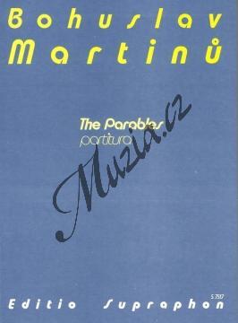 Martinů Bohuslav | Paraboly | Studijní partitura - Noty pro orchestr - H7517.jpg