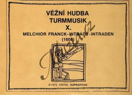 Franck Melchior   Intrády (1608)   Set partů - Noty-komorní hudba - H7572.jpg