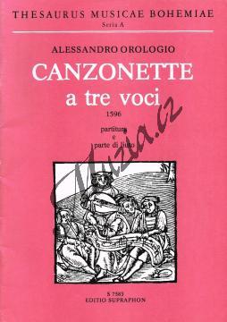 Orologio Alessandro | Kanconety pro tři hlasy a loutnu | Partitura a party - Noty pro sbor - H7583.jpg