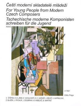 Album | Čeští moderní skladatelé mládeži | Noty na klavír - H7591.jpg
