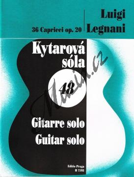 Legnani Luigi | 36 capriccií op. 20 | Noty na kytaru - H7593.jpg