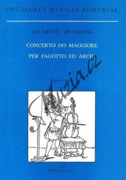 Neruda Jan Křtitel Jiří | Concerto Do maggiore per fagotto ed archi | Klavírní výtah - Noty na fagot - H7646.jpg