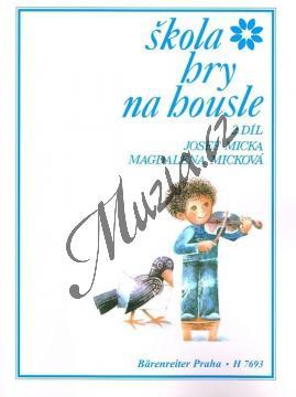 Micka Josef, Micková Magdaléna | Škola hry na housle - 2. díl | Noty na housle - H7693.jpg