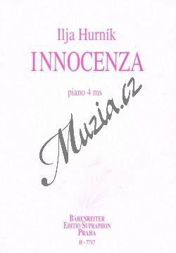 Hurník Ilja | Innocenza | Noty na klavír - H7717.jpg