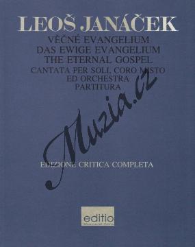 Janáček Leoš | Věčné evangelium - Partitura | Noty pro sbor - H7736.jpg