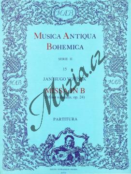 Voříšek Jan Václav Hugo   Missa in B (Missa solemnis op. 24)   Partitura - Noty pro sbor - H7739.jpg