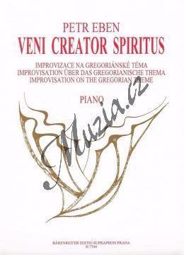 Eben Petr | Veni creator spiritus (Improvizace na gregoriánské téma) | Noty na klavír - H7744.jpg