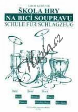 Kubánek Libor | Škola hry na bicí soupravu | Noty na soupravu bicích nástrojů - H7745.jpg