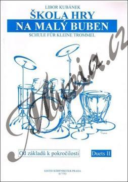 Kubánek Libor | Škola hry na malý buben | Noty na malý buben - H7753.jpg